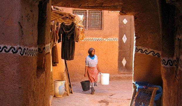 El ksar de taourirt es algo que ver en Ouarzazate que suele pasar desapercibido