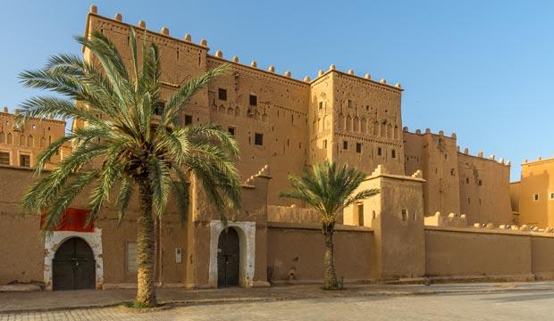 La kasbah de taourirt es un lugar de Ouarzazate que ver imprescindible