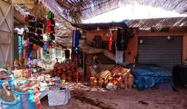 Ouarzazate. ¿Qué ver? Un lugar muy interesante es el antiguo mercado