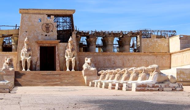 Una de las cosas que hacer en Ouarzazate es visitar los Estudios Atlas