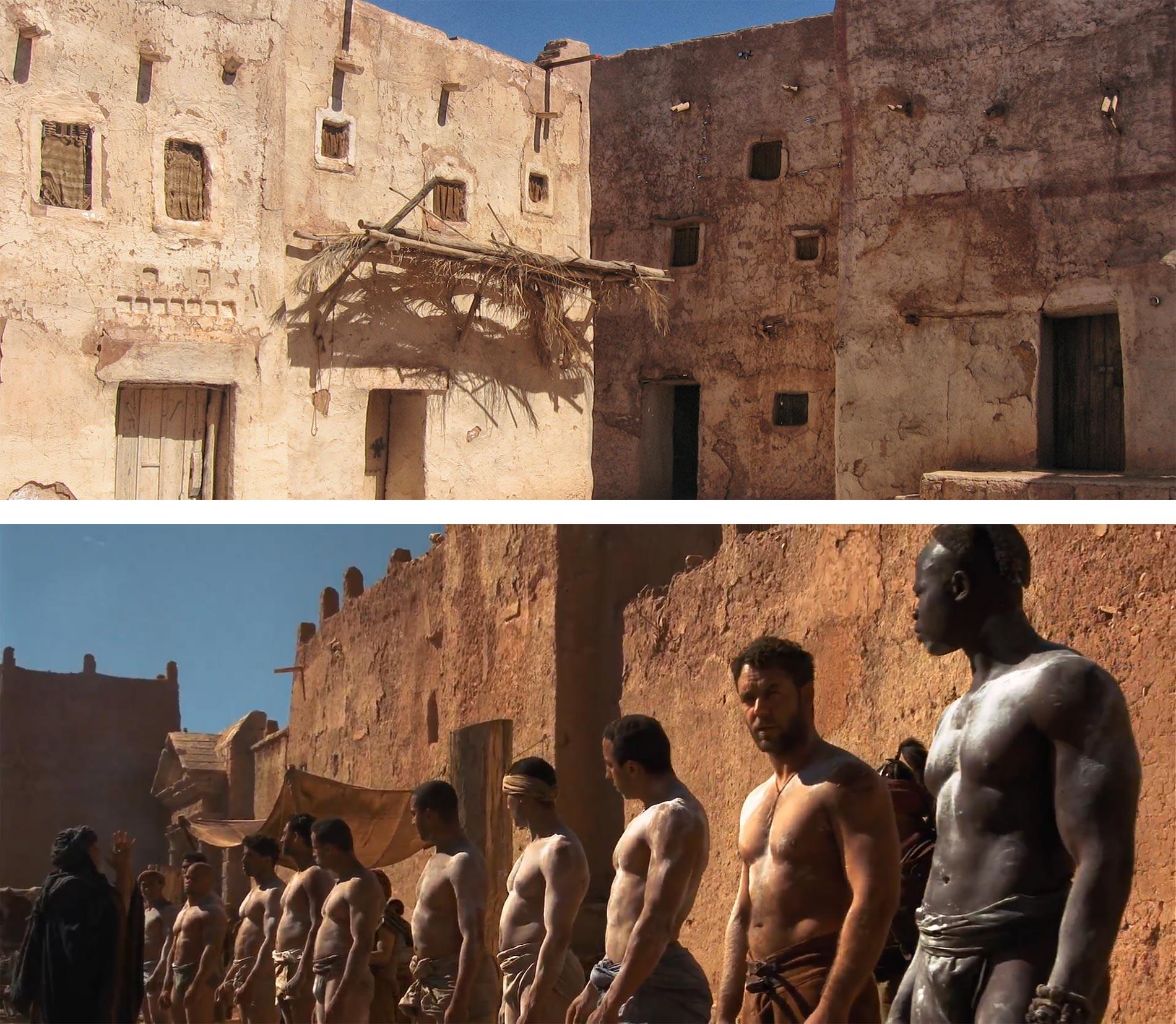 Ouarzazate: 5 peliculas en los Atlas Studios [Siente