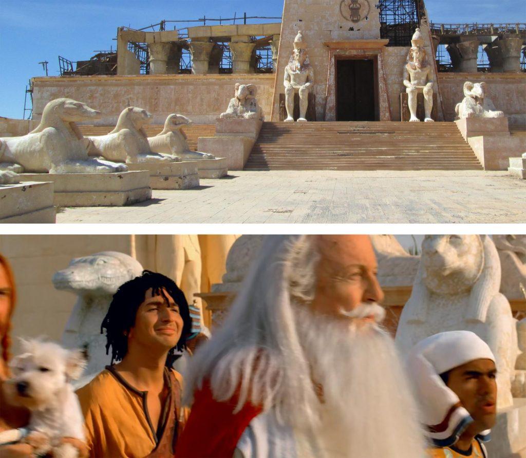 Atlas corporation fue uno de los estudios elegidos para rodar Astérix y Obélix, Misión Cleopatra