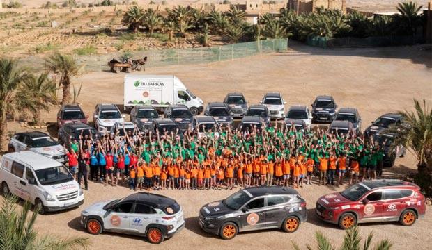 El desierto de los niños. Viaje solidario a Marruecos