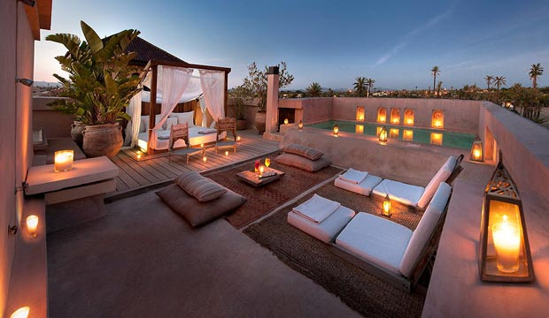 El hotel Ksar Char-Bagh fue el lugar elegido por Idris Elba para celebrar su boda en Marrakech