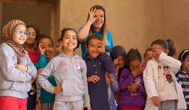 """En la campaña """"El desierto de los niños"""" colabora la Fundación Alain Afflelou"""