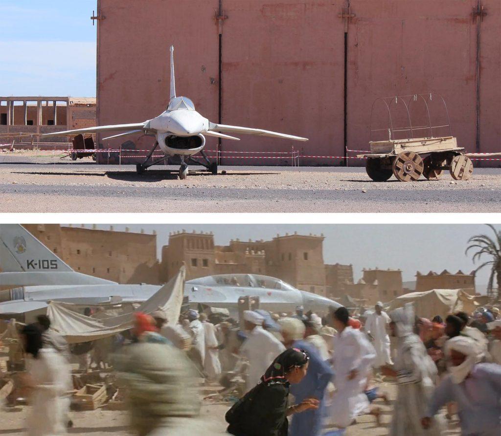 En los Atlas Studios (Ouarzazate) fue uno de los lugares donde se filmó la Joya del Nilo
