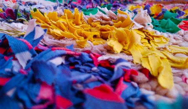 Las alfombras boucherouite son una buena oportunidad para una efectiva decoración marroquí o decoración árabe