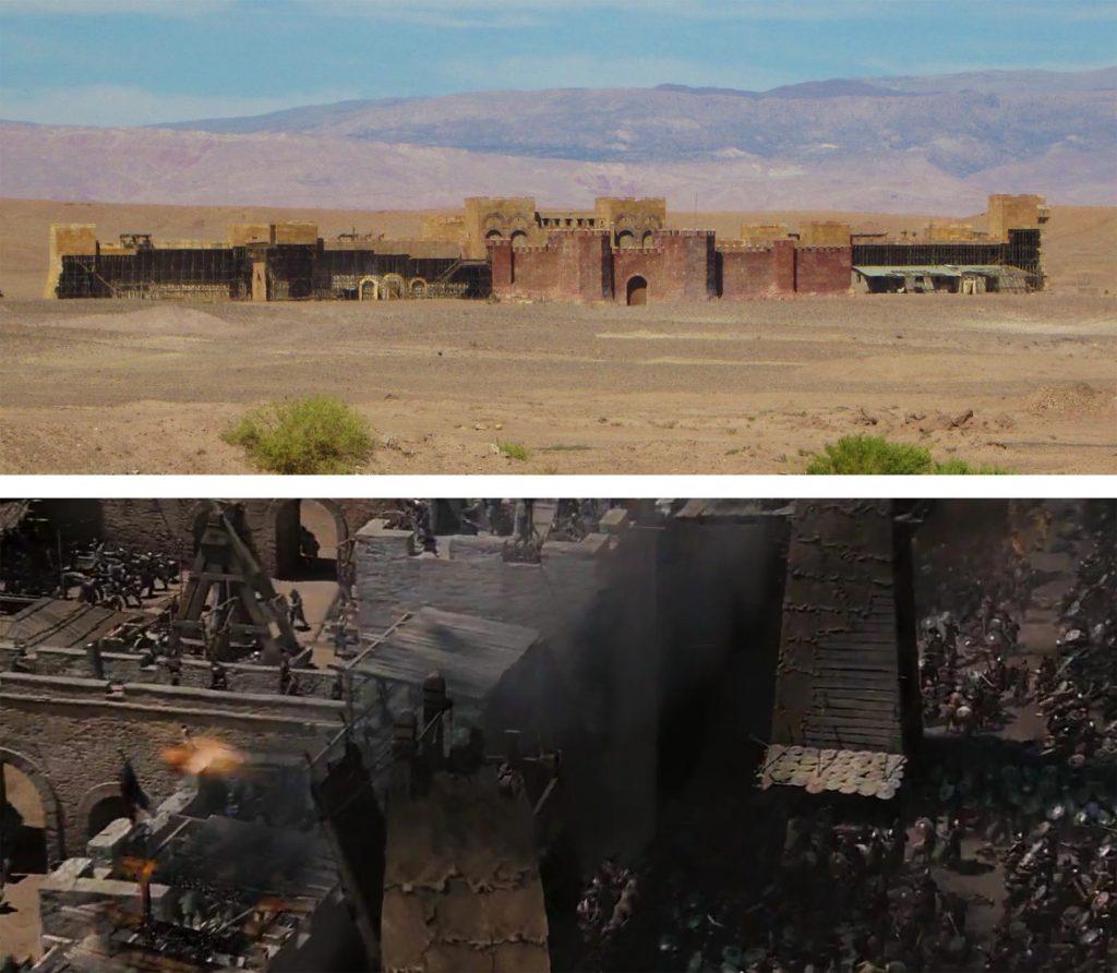 Los estudios de cine de Ouarzazate de la empresa Atlas Corporation fueron los elegidos para El reino de los Cielos