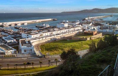 Tánger-Ville, El nuevo puerto de Tánger