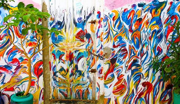 El arte en Asilah está más presente que nunca cuando tiene lugar el festival