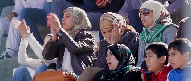 En el futbol marroquí cada vez hay más aficionadas