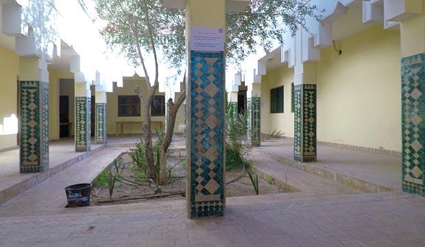 La zaouia Nasiriyya o Zawiya Nasiriyya de Tamegroute cuenta con una importante biblioteca