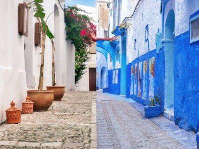 Vejer de la frontera (Cádiz) y Chaouen tienen una historia en común
