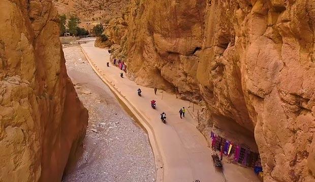 En el PuntApunta Marruecos los participantes tendrán que realizar un recorrido que atraviesa el centro y la costa atlántica de Marruecos