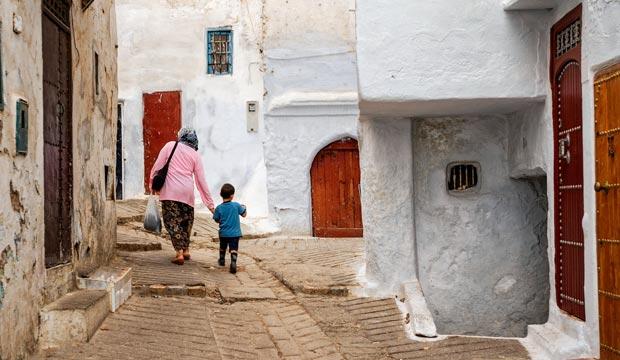 La medina de Tetuán es unos de los lugares que ver en Tetuán que no deben faltar en tu visita