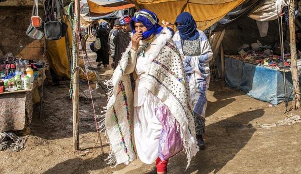 Los Ait haddidou son una tribu famosa por el moussem de las novias en Imilchil, Marruecos