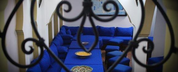 Restaurante del Riad Dar Mounir
