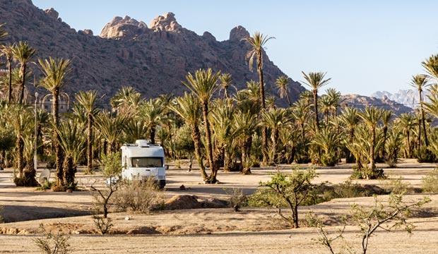 Viajar a Marruecos en autocaravana