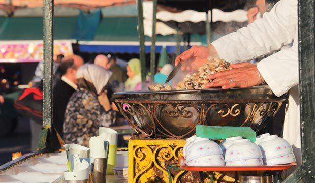 Platos marroquíes originales. Platos típicos de Marruecos
