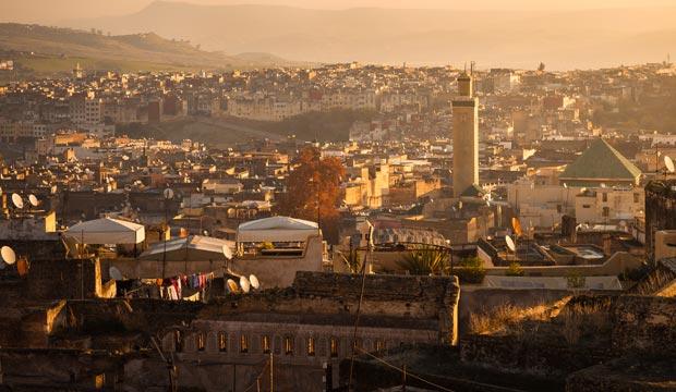 La medina de Fez es un lugar patrimonio de la humanidad en Marruecos