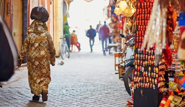 La medina de Marrakech es patrimonio de la humanidad