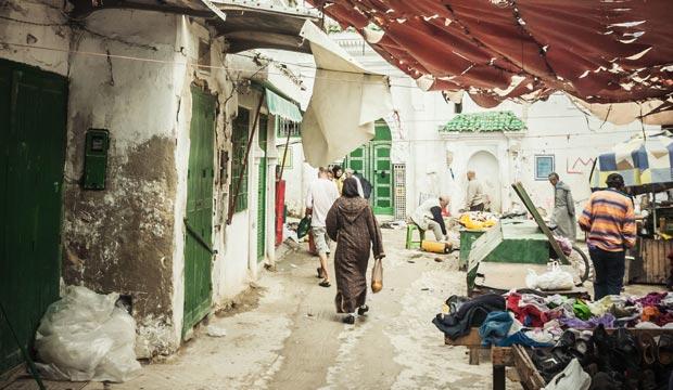 La medina de Tetuán es también patrimonio de la humanidad de Marruecos