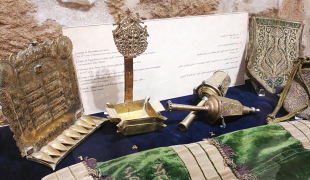 En el Museo de la Memoria Judía de Essaouira están expuestos muchos ejemplos de la cultura judía en Marruecos