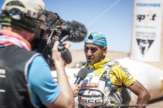 En el Marathon des Sables del 2019 ganó nuevamente el marroquí Rachid El Morabity