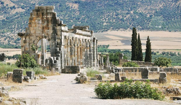 Marruecos en Abril. Volubilis, para los amantes de la historia