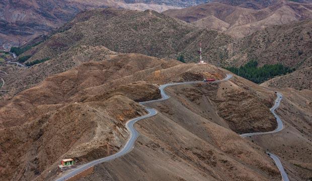 Tizi n'Tichka es el punto de paso más alto de Marruecos