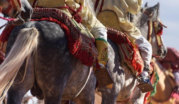 El Festival de las Rosas de Marruecos es una perfecta ocasión para disfrutar de bailes y danzas folclóricas marroquíes