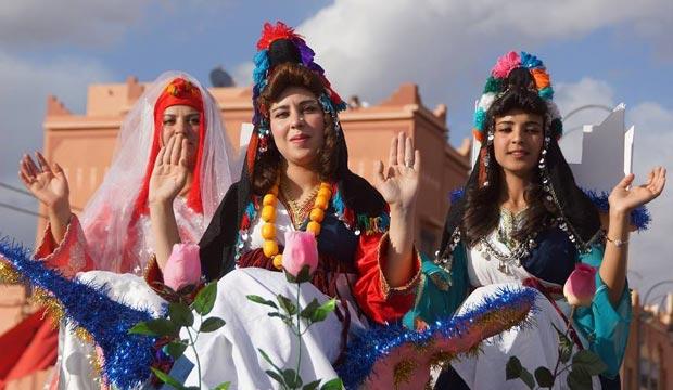 En el festival de rosas de Marruecos se elige todos los años a una reina