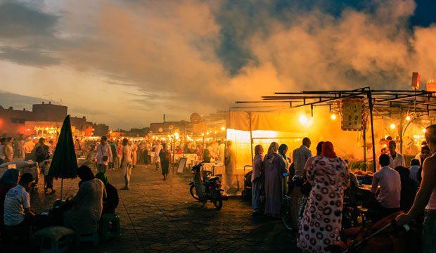 Marrakech con los cinco sentidos