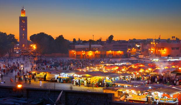 Marrakech con los cinco sentidos. El oído
