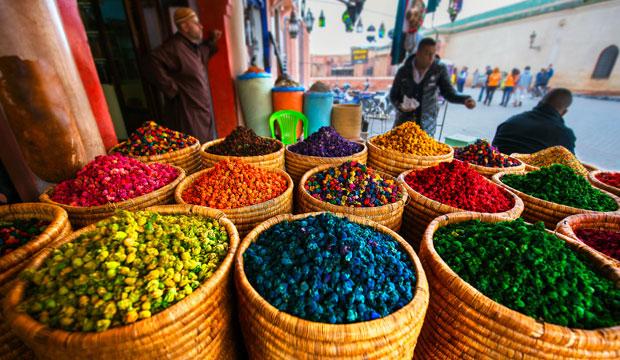 Marrakech con los cinco sentidos. El olfato