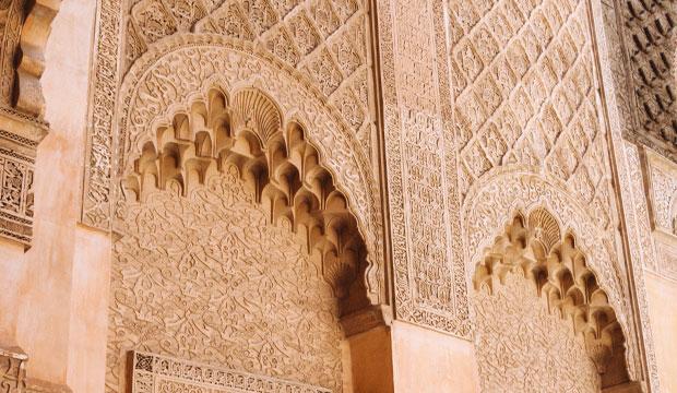 Marrakech con los cinco sentidos. El tacto