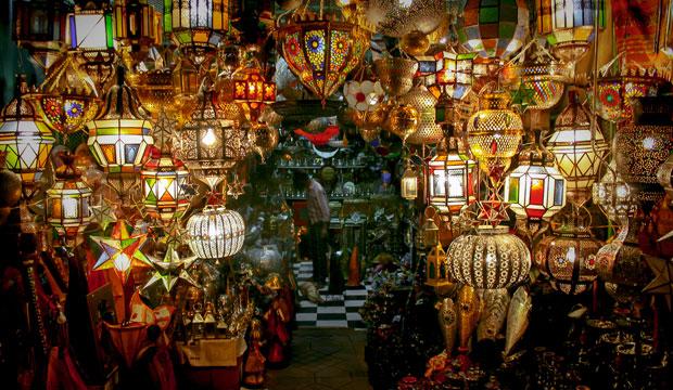 Marrakech con los cinco sentidos. La vista
