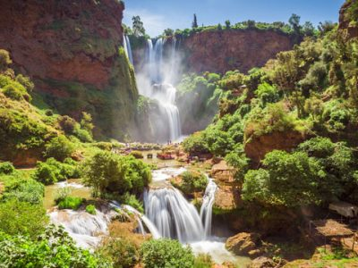 Cascadas de Ouzoud en Marrakech. Cataratas de Ouzoud