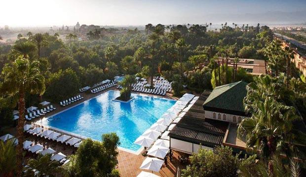 El jardín del Hotel La Mamounia reúne más de 1.200 especies vegetales