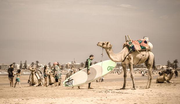 Essaouira es una playa apta para surferos