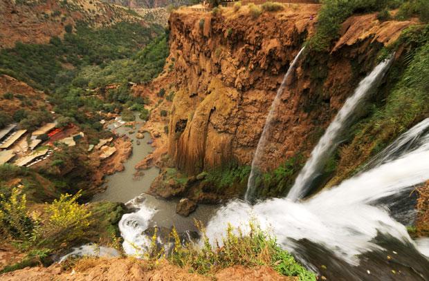 La Cascada de Ouzoud en Marrakech tiene un caudal constante