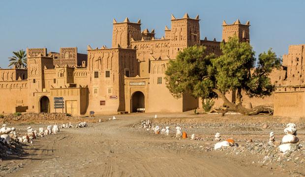 La kasbah de Amridil, en ruta de las kasbahs por el alto atlas, está en un más que envidiable estado de conservación
