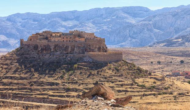 La ruta de las 1000 kasbahs, en realidad, se produce en los alrededores del desierto