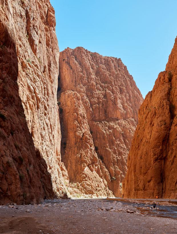 La ruta de las kasbahs por el alto atlas atraviesa las gargantas del todra