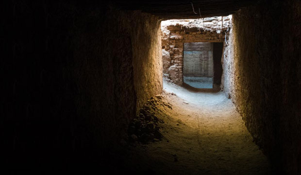 La ruta de las mil kasbahs transita por Tamegroute y su kasbah enterrada