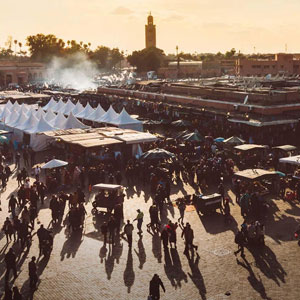 Viaje a Marrakech en tren
