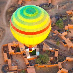 Vuelo en globo aerostático en Marrakech