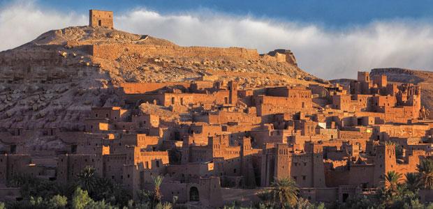 Ait Ben Haddou a las puertas del desierto del Sáhara en Marruecos