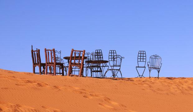 Antes de dormir en el desierto (Marrakech) debes consultar el clima