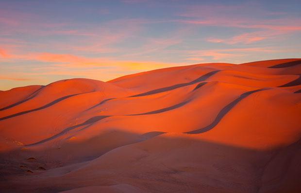 Antes de dormir en el desierto en Marruecos debemos conocer su clima